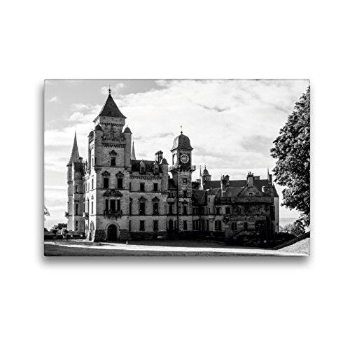 CALVENDO Premium Textil-Leinwand 45 x 30 cm Quer-Format Dunrobin Castle, Leinwanddruck von Ralf Kaiser