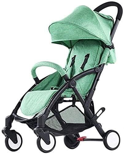 Cochecito de viaje para bebés Socha para el recién nacido para niños pequeños Lightweight Carrito de bebé recién nacido Travel para niños pequeños, cochecito de cochecito plegable compacto de peso lig