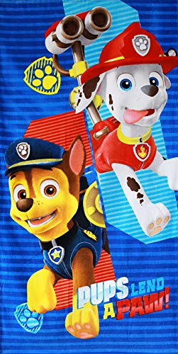 Nickelodeon 821-313 Paw Patrol Badetuch 70 x 140