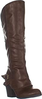 American Rag AR35 Emilee Knee High Boots, Brown Smooth