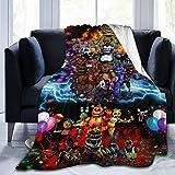 ETFDCDFEW Five Nights at Freddy Fleece Blanket Ultra-Soft Flannel Throw Blanket 50' x40