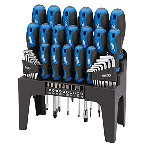 Draper 865/44 - Controlador establece además reposar - azul (44 piezas)