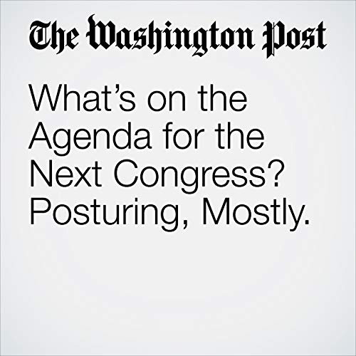 What's on the Agenda for the Next Congress? Posturing, Mostly. audiobook cover art