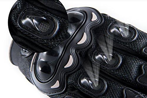Motorradhandschuhe Pursuit Moto L schwarz kurz Sommer Touchscreen für Herren und Damen Motocross Handschuhe Fahrrad MTB Roller Sport Mofa - 7