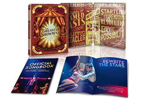 『グレイテスト・ショーマン ブルーレイ版 リミテッド・エディション スチールブック仕様 [Blu-ray]』のトップ画像