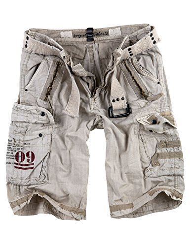 Surplus Raw Vintage Royal Shorts, Royalwhite, L
