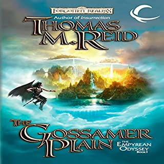 The Gossamer Plain     Forgotten Realms: Empyrean Odyssey, Book 1              By:                                                                                                                                 Thomas M. Reid                               Narrated by:                                                                                                                                 Gayle Hendrix                      Length: 10 hrs and 39 mins     39 ratings     Overall 3.9