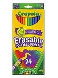 Crayola borrable lápices de colores Set de 24[Pack de 3]