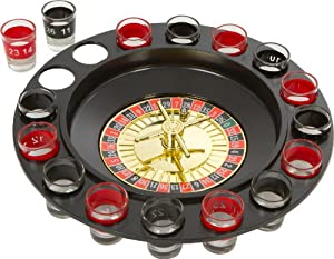 EZ DRINKER Shot Spinning Roulette Game Set (16-Piece) from EZ Drinker