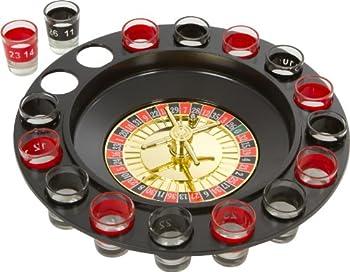EZ DRINKER Shot Spinning Roulette Game Set  16-Piece