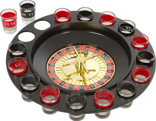 EZ Drinker Shot Spinning Roulette-Set (16-teilig)