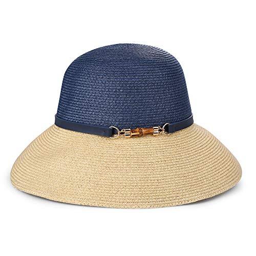 Protector Solar Redes Femeninas ins Vacas Viajes Moda Compras Sombreros para el Sol Sombreros para el Sol Ocio Vacaciones Hierba Azul Oscuro Entre TH