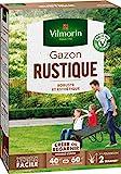 Vilmorin 4460414 Gazon Rustique, Vert, 1 kg