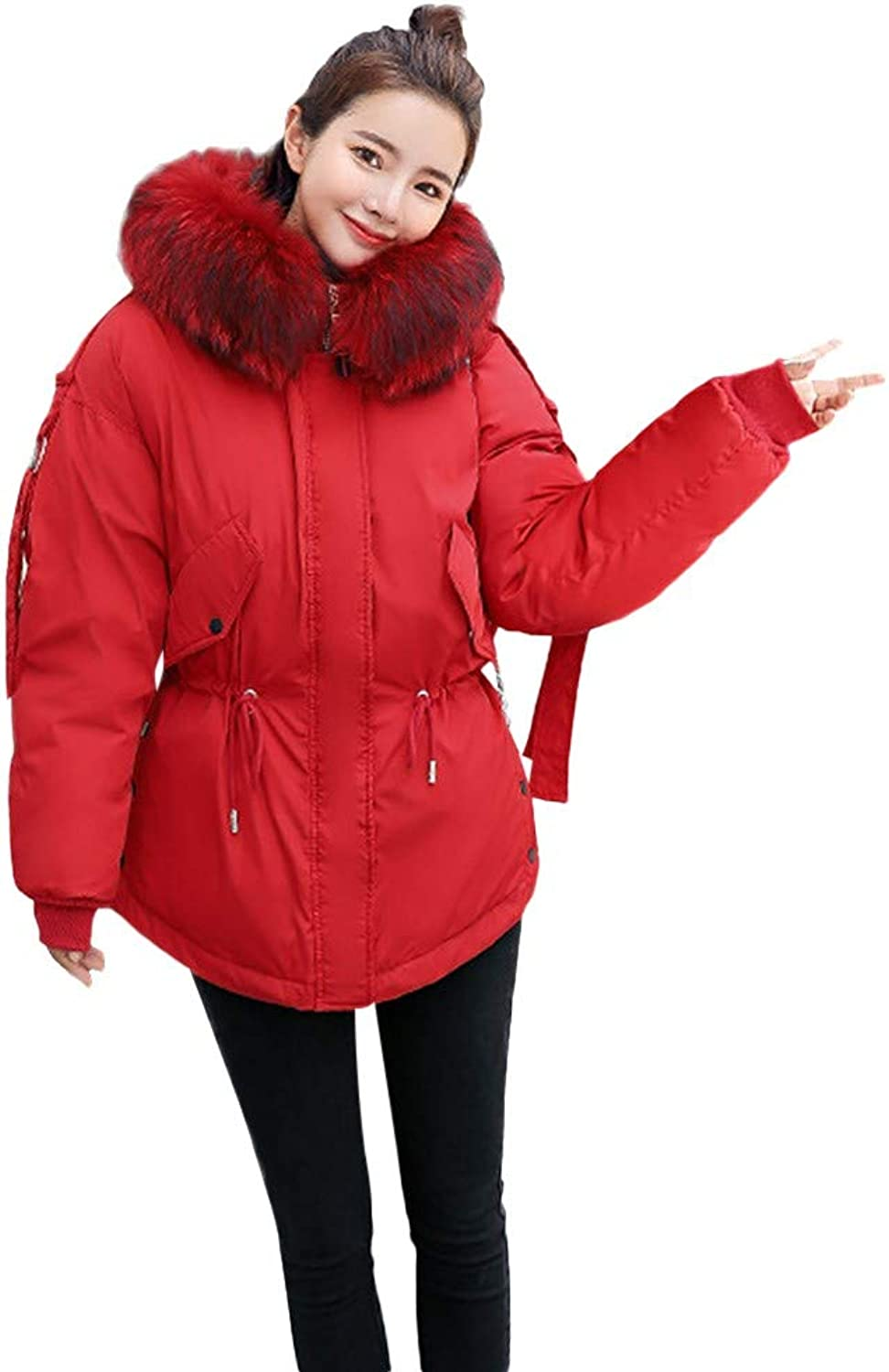 Aries Esther Women's Down Cotton Coat Parka Winter Hooded Jacket Outwear