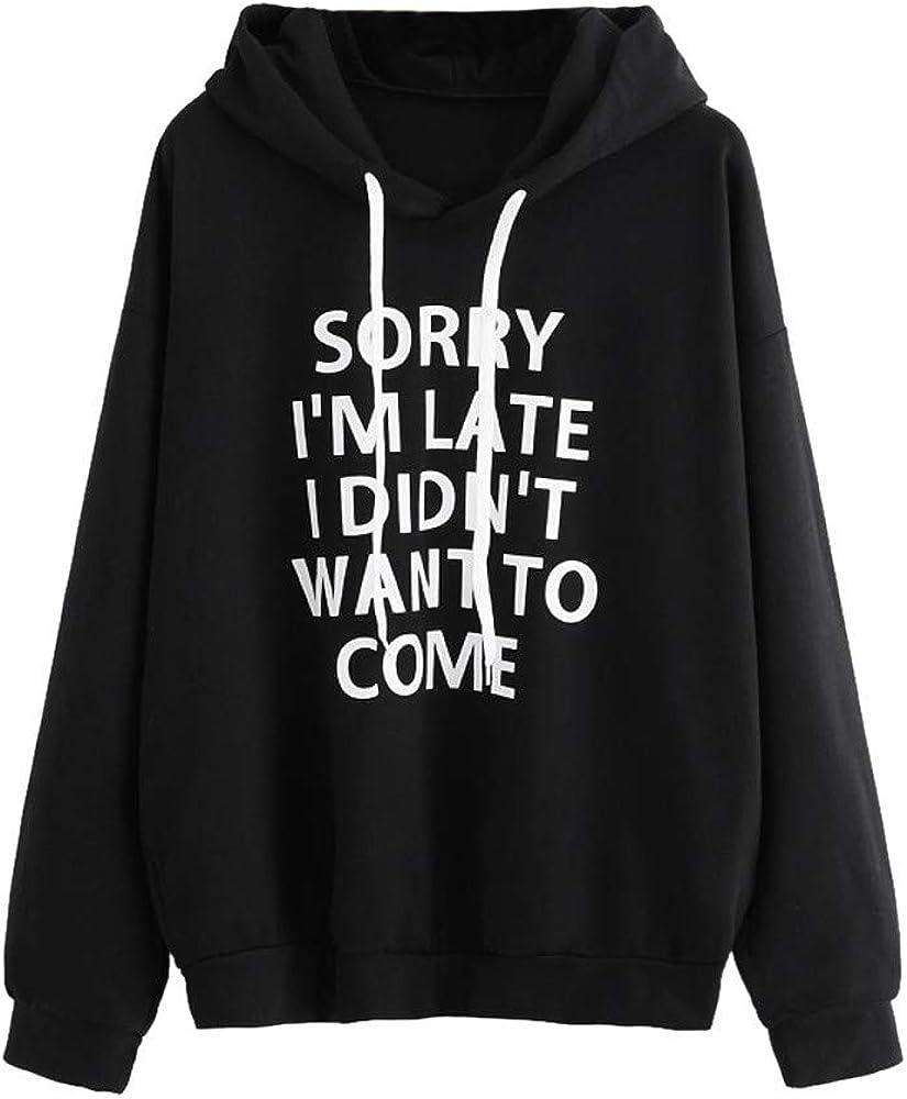 Hoodies for Teen Girls, Womens Long Sleeve Cute Graphic Hoodie and Sweatshirt Casual Crewneck Loose Pullover Tops