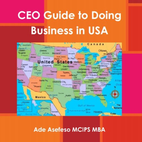 CEO's Guide to Doing Business in USA audiobook cover art