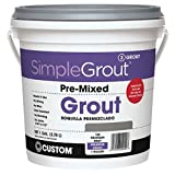 Premixed ready to apply Stain resistant Crack and shrink resistant For grout joints from 1/16-inch to 1/2-inch width Excellent for grout restoration