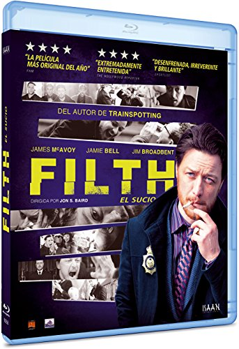 Filth, el sucio -Blu-ray-