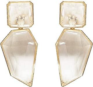 Acrylic Geometric Statement Drop Earrings KELMALL COLLECTION