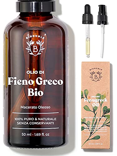 OLIO DI FIENO GRECO BIOLOGICO   Macerato Oleoso di Semi di Fieno...