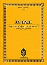 Brandenburg Concerto No. 5 in D Major, BWV 1050 (Edition Eulenburg)