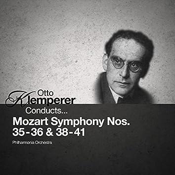 Otto Klemperer Conducts... Mozart Symphony Nos. 35-36 & 38-41 (Digitally Remastered)