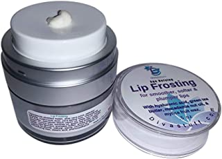 Dưỡng môi căng – Lip Frosting For Smoother, Softer, and Plumper Lips, Day or Night Treatment, By Diva Stuff