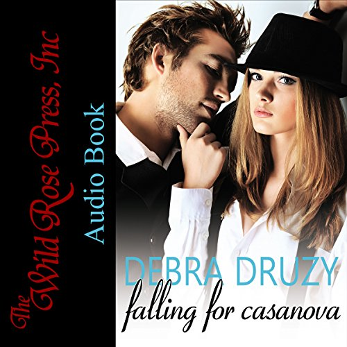 Falling for Casanova audiobook cover art