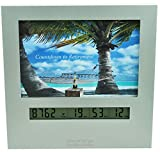 9999 Day Retirement Countdown Clock with Large Display Digital Timer & a 4x6 Picture Frame, Fun Gifts for Men or Women Change Photo & Count Down to Vacation Wedding Christmas Halloween holiday