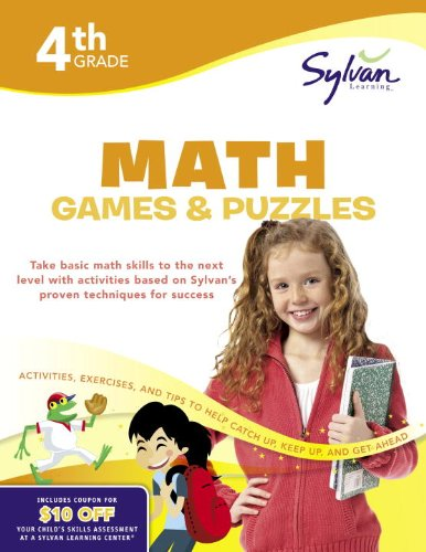 4th Grade Math Games & Puzzles (Sylvan Learning Center)