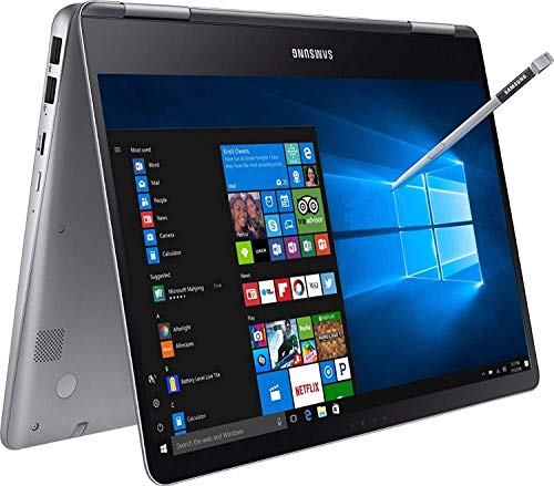 2020 Newest Samsung Notebook 9 Pro 2 in 1 Laptop, 15' FHD Touchscreen, 8th Gen Intel Quad-Core i7-8550U, 2GB AMD Radeon 540 Backlit KB USB-C Pen Win 10 + CUE Accessories (16GB RAM I 256GB SSD)