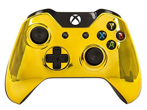 ModdedZone Xbox One Rapid Fire Modded Controller Pro Finish 40 Mods - Gold