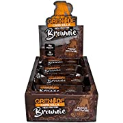 Grenade Carb Killa Protein Chocolate Brownie | 15g High Protein Snack | Keto Friendly Low Net Carb Low Sugar | Fudge Meal Replacement | Fudge Brownie and Walnut, 12 Pack