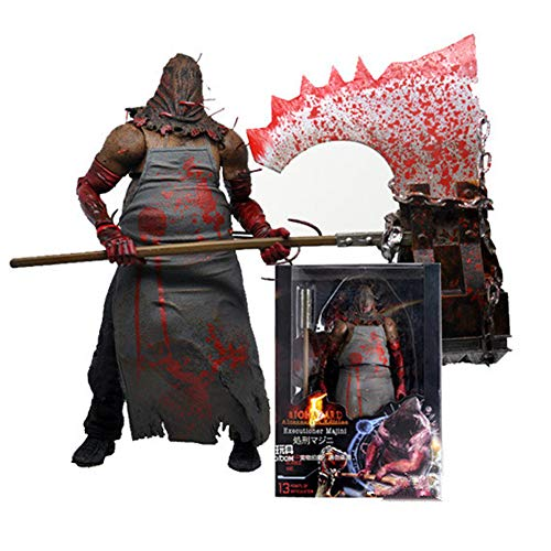 Alician FunGame NECA Resident Evil 5 Series 1 Action Figure Executioner