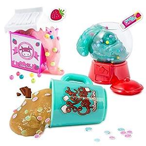 Canal Toys SSC 076 So Slimelicious Slimelicious - Juego de 3 Paquetes de Milk / Ice Cream / Choco