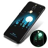 BLUGUL Funda Huawei Mate 10 Lite, Pintura 3D Luminosa, Blando TPU, Ultra-Delgada, Cover para...