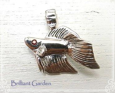 『[ブリリアントガーデン]Brilliant Garden トラディショナルベタペンダントヘッド(レッド) bg-14』の5枚目の画像