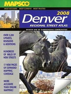 Mapsco Denver Regional Street Atlas
