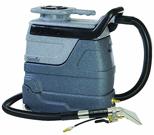 Sandia 50-4000 Spot-Xtract 3-Gallon Spot Extractor Heater, 15' Hoses, 4' Stainless Steel Hand Tool, 55 psi Pump, 100 CFM, 804W, 2-Stage Motor up to 200 Degree F Heater