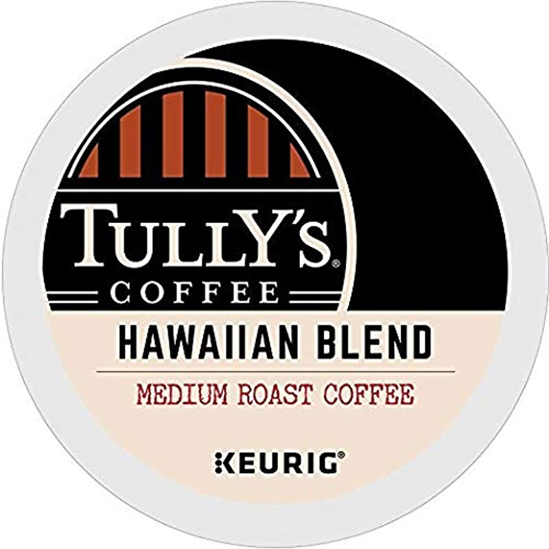 Tully S Coffee Hawaiian Blend Single Serve Keurig K Cup Pods Medium Roast Coffee 72 Count 3 Boxes Of 24 Pods