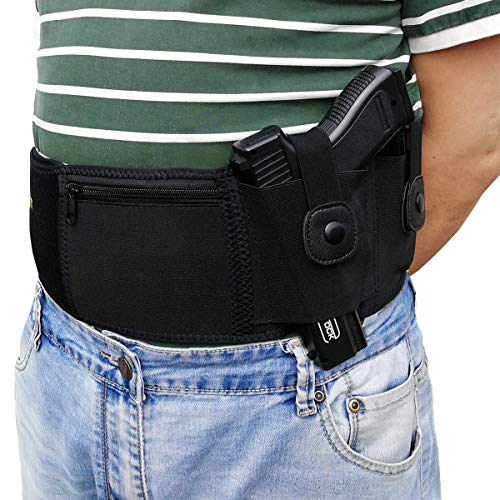 Ultimate Belly Band Holster Deep Concealment,Compatible with...