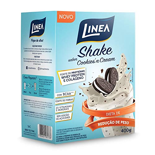 Shake Cookies'N Cream Linea 400g