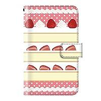 スイーツ お菓子 デザート (手帳型)【05.ショートケーキ】/ iPhone7 Plus 手帳型ケース カバー アイフォン