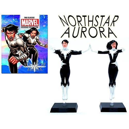 Marvel Figurine Collection Special Northstar & Aurora