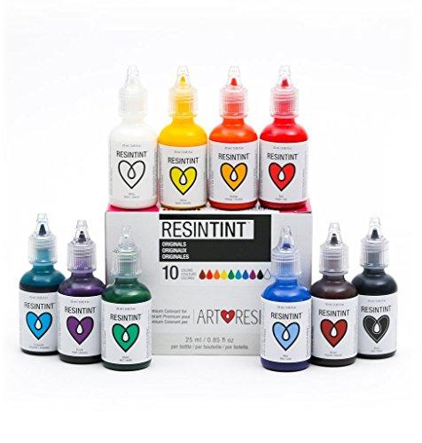 ResinTint - Liquid Pigment - 10 Pack