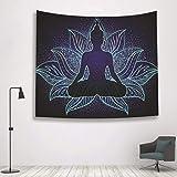 nobranded Tapices psicodélicos Indios Tapices de meditación de Yoga Decoraciones Indias misteriosas del hogar del Arte de la Pared Que cuelga (200 * 150cm)