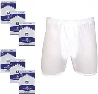 ملابس داخلية للرجال من دروش قطنية 6 قطع