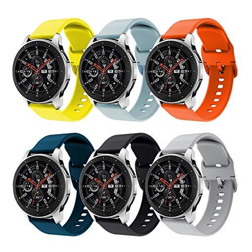 Syxinn Compatible para 22mm Correa de Reloj Galaxy Watch