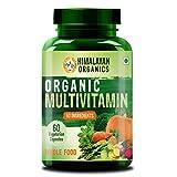Himalayan Organics Organic Multivitamin with 60+ Certified Organic Extracts - 60 Vegetarian Capsules