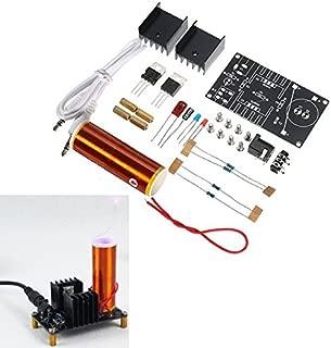 ILS. - DC 15-24V 2A DIY Electronic Mini Music Tesla Coil Plasma Horn Speaker Kit Produce Arc Music Player